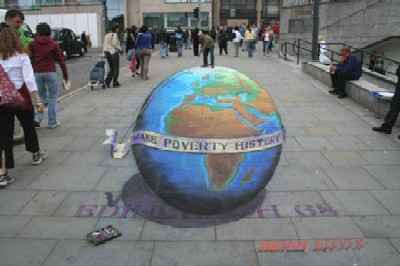 Beever, Make Poverty History, Edinburgh