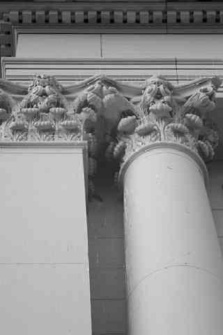 Library Corinthian Columns