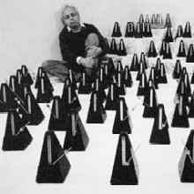 Ligeti in Sea of Metronomes