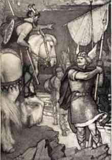 beowulf three battles The epic hero often battles for good,  beowulf exhibits these qualities in the old english epic poem named after him his heroic qualities were courage,.