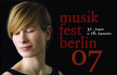 Musik-Fest Berlin 2007 billboard/poster