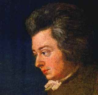 Mozart portrait, age 26 years, by Joseph Lange.