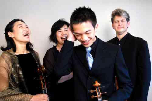 Borromeo Quartet, photo Linder