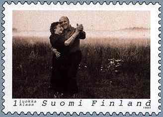 Finnish Tango Commemorative Postage, 1997