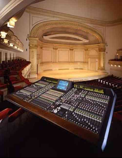 Carnegie Hall, Stern Auditorium, Yamaha PM1D mixer