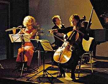 Meininger Trio, Bergisch-Gladbach/Cologne; photo © Markus Bollen