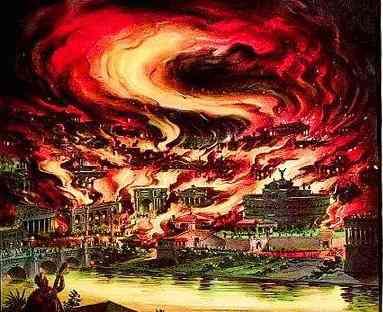 Rome, Burning