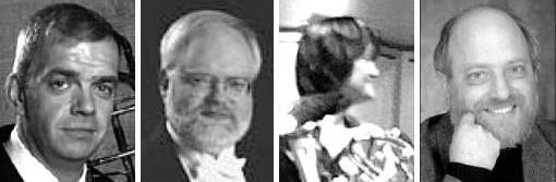 Chugach Brass: Sweeney, Weeda, Pierce, Epperson