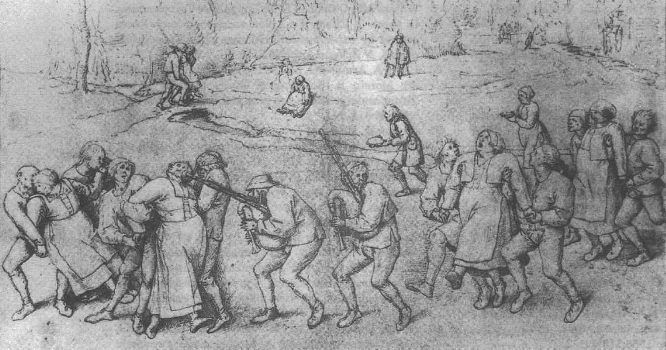 Therapeutic Tarantella: Bruegel the Elder, 'Epileptic Women'