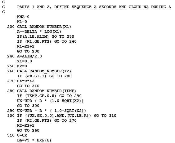 Fortran code