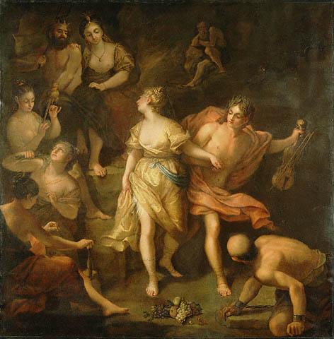 Jean Raoux, Orpheus & Eurydice, ca. 1718, Getty Museum