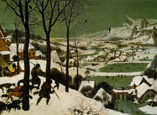 Brueghel – Hunters in Snow – 1565