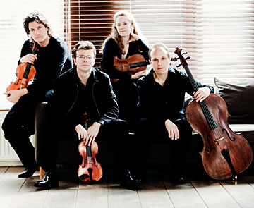 St. Lawrence String Quartet, photo © Marco Borggreve