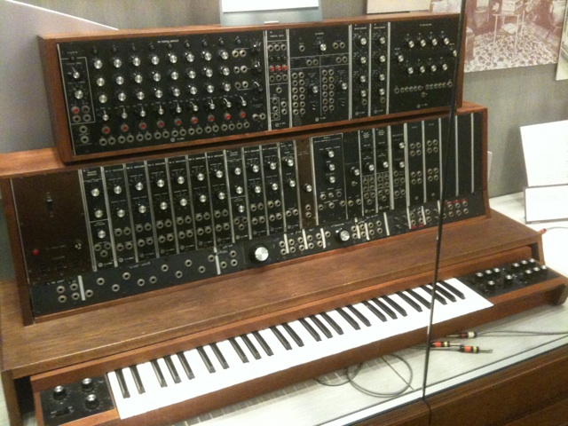 Moog synthesizer, ca. 1964