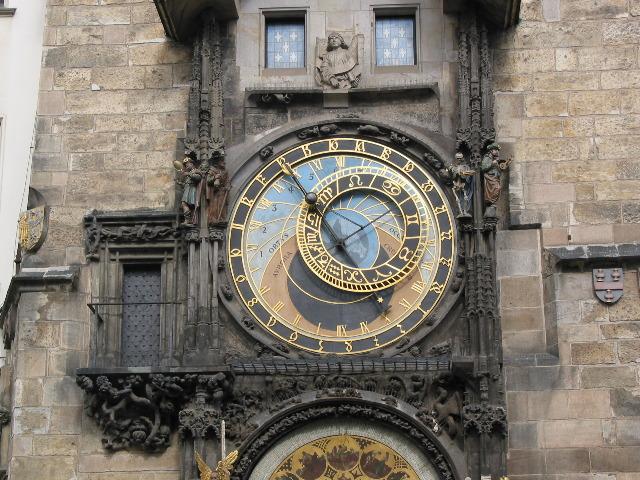 Prague Store Mesto clock