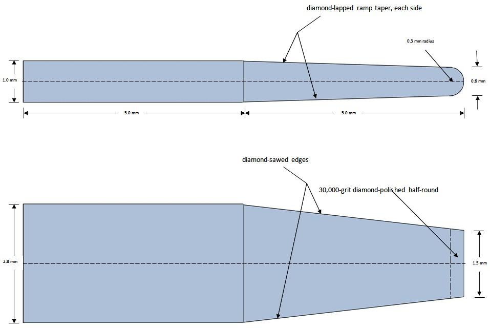 McNair silicon nitride harpsichord plectra