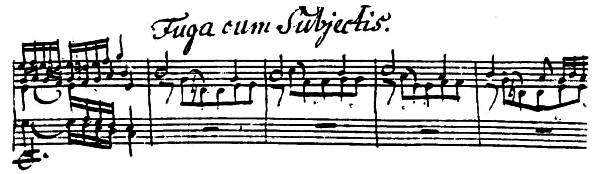 BWV 582, m. 169