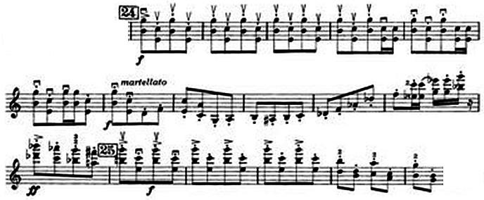 Prokofiev Op. 56, Vn1