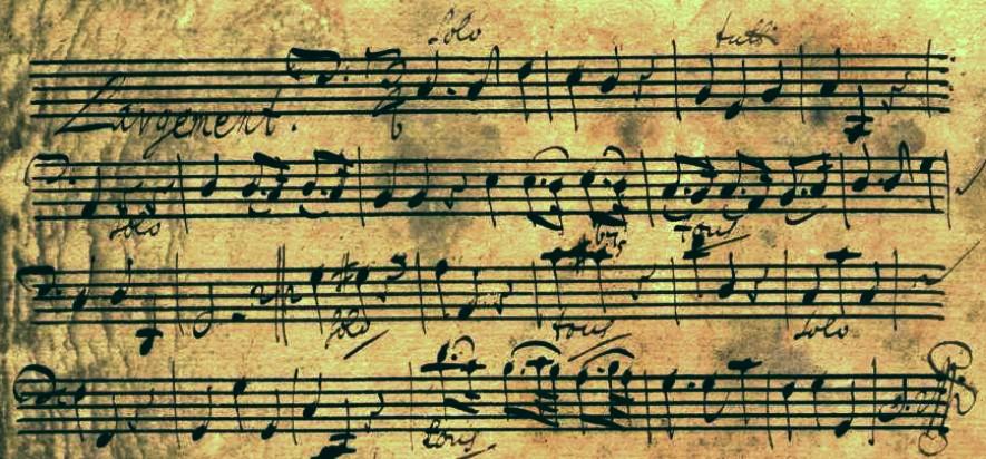 Telemann TWV52a2 flute part