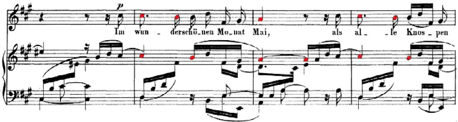 Dichterliebe, Op. 48, No. 1