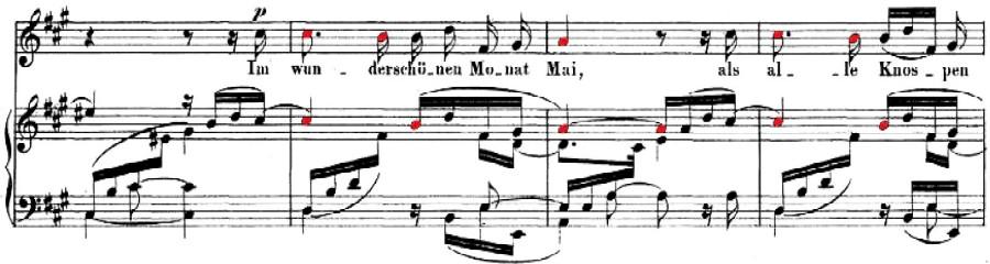 Dichterliebe, Op. 48, No. 1